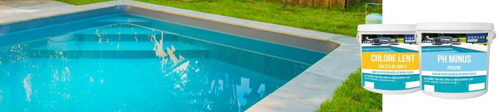 Découvrez nos produits de traitement de l'eau de votre piscine de la marque Aquilus dans notre magasin Aquilus Piscines & Spas.