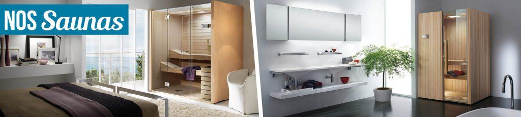 Aquilus Spas c'est aussi une gamme de saunas performants.