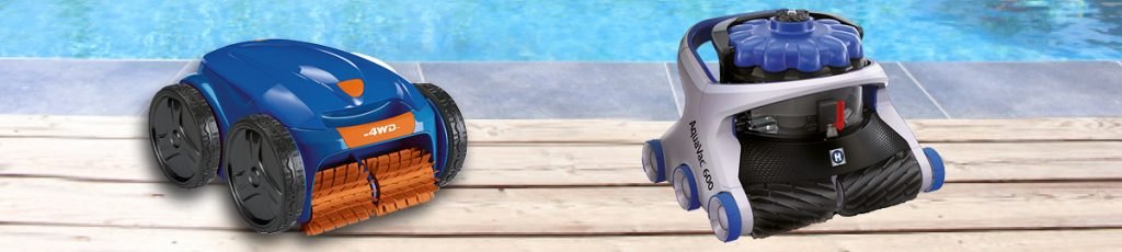 Robots nettoyeurs piscines Aquilus